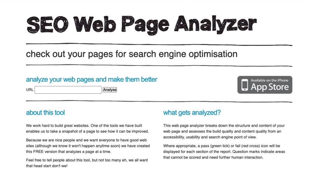 网站分析工具