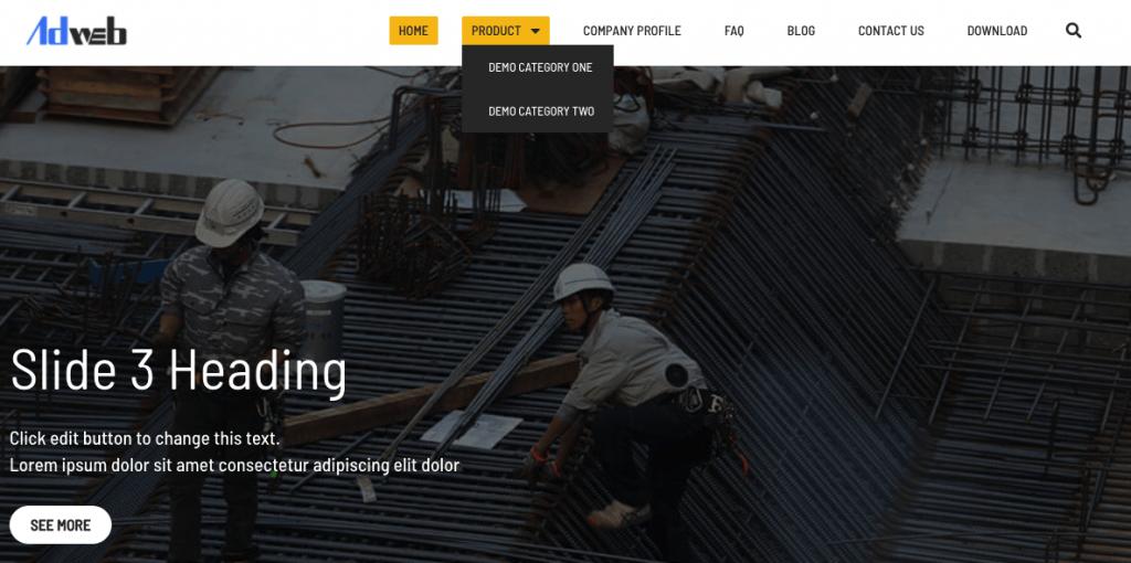 如何建立外贸网站?页面表达清晰、分工明确