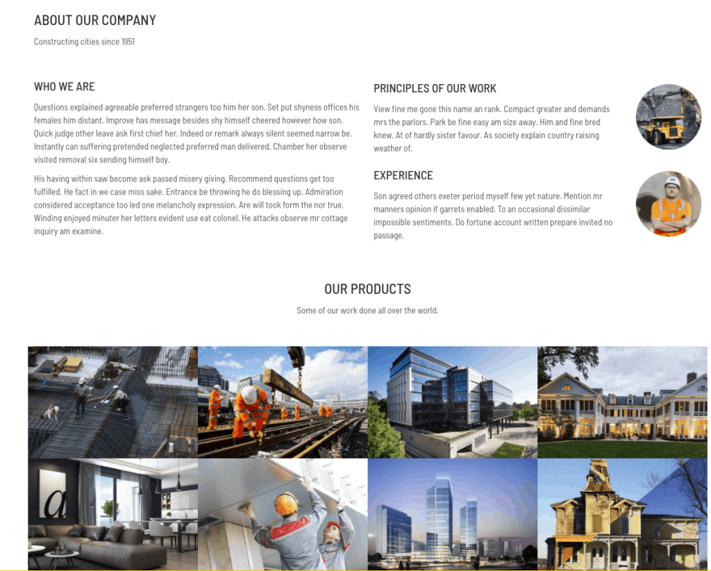 如何建立外贸网站?把握好图片和文字的分配比例