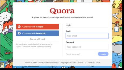 利用Quora问答平台