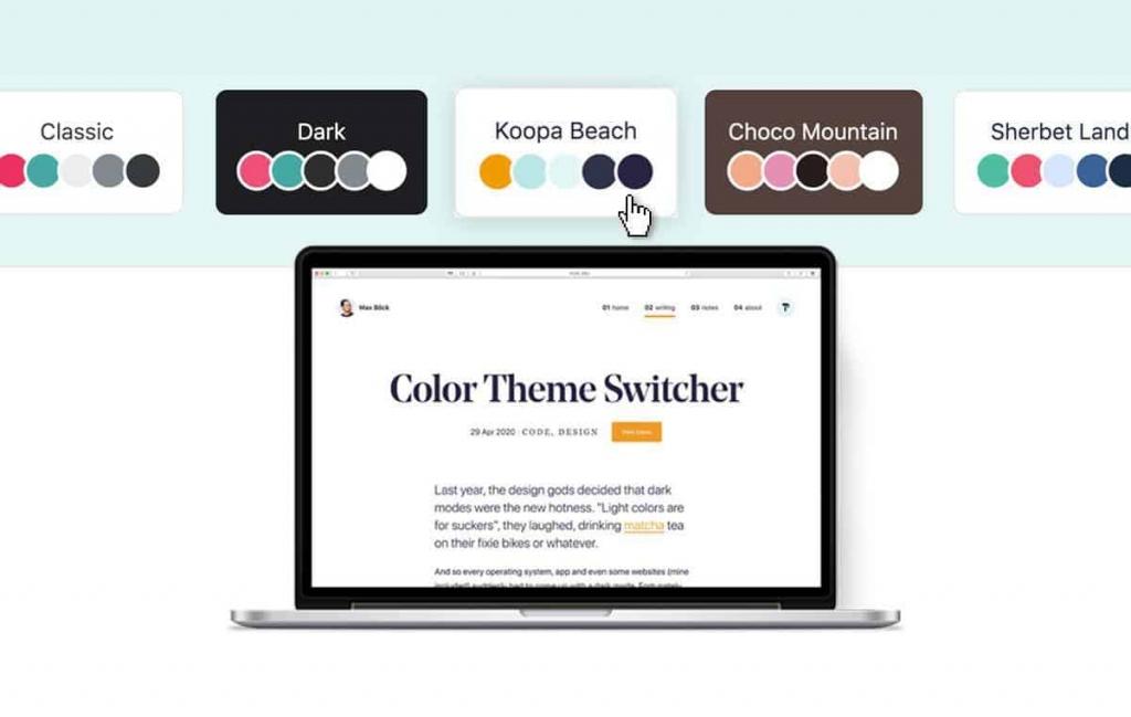 网站色调采用全球行业通用色调